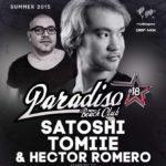 Discoteche a Rodi : Paradiso Beach Club dj satoshi tomie