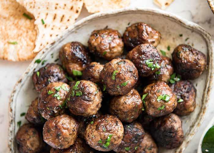 Cibo greco cosa si mangia in grecia polpette di carne