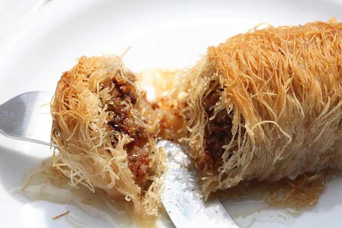 Cibo greco cosa si mangia in grecia kataifi