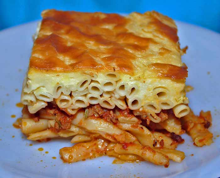cosa mangiare in grecia pasticcio