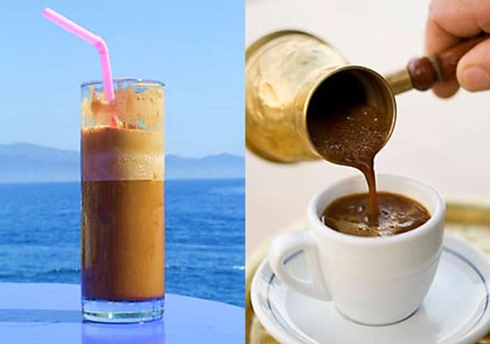 caffè greco Cibo greco cosa si mangia in grecia
