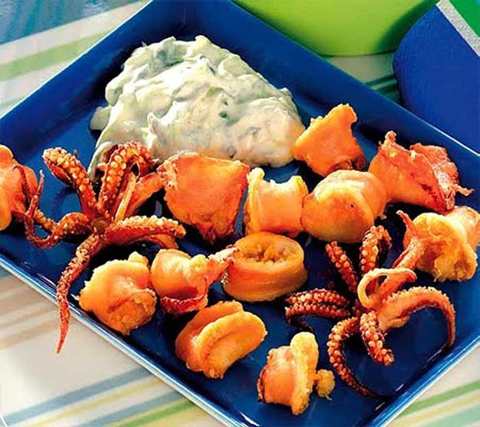 cosa mangiare in grecia calamari fritti