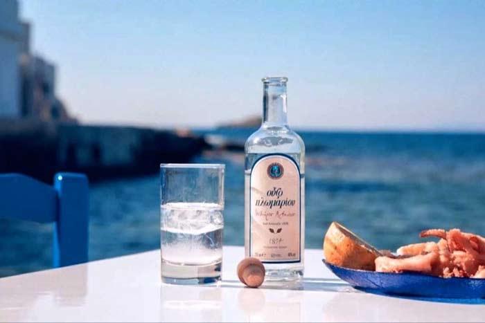 ouzo greco Cibo greco cosa si mangia in grecia