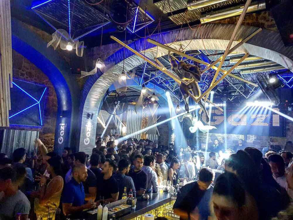 gazi club a rodi old town Rodi vita notturna